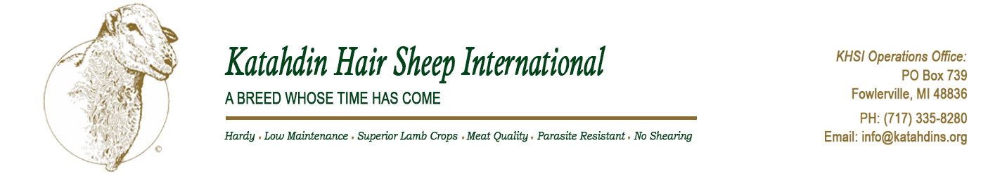 Katahdin Hair Sheep International